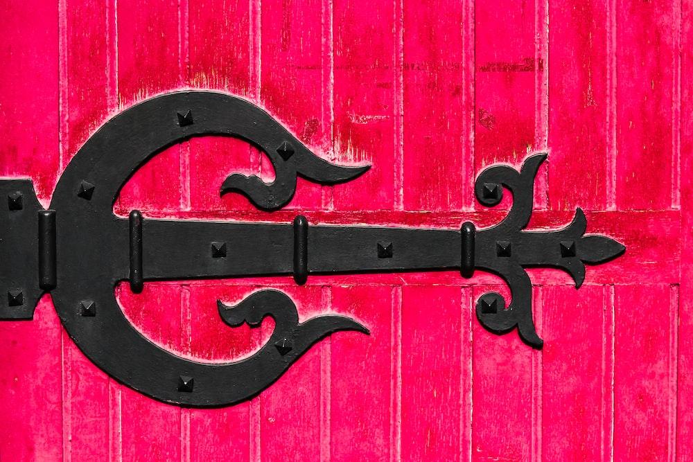 black metal gate design