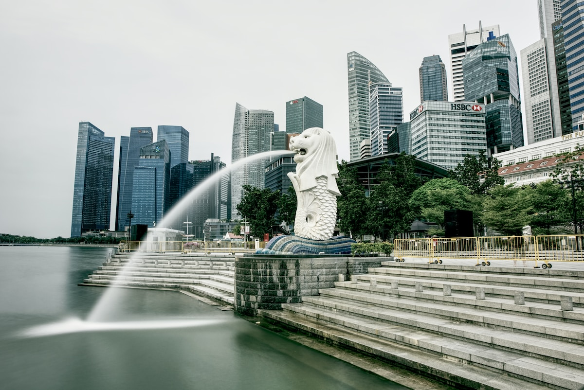 Merlion Park. Best Places to Visit in SINGAPORE.