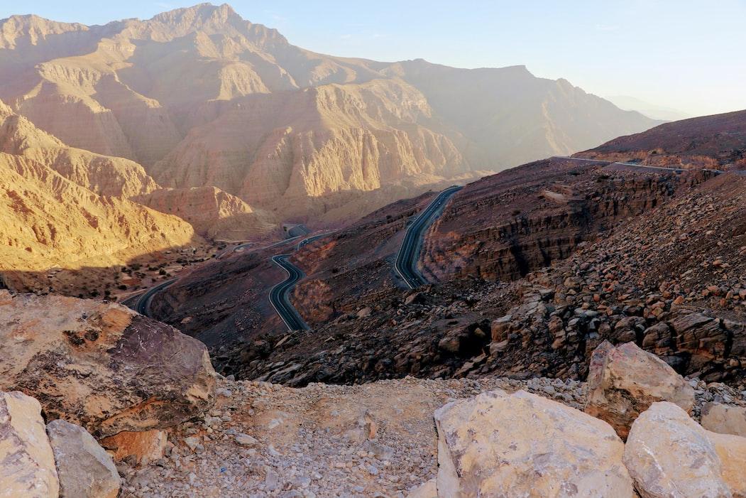 Jebel Hafeet Mountain