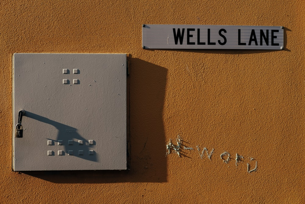 Wells Lane text