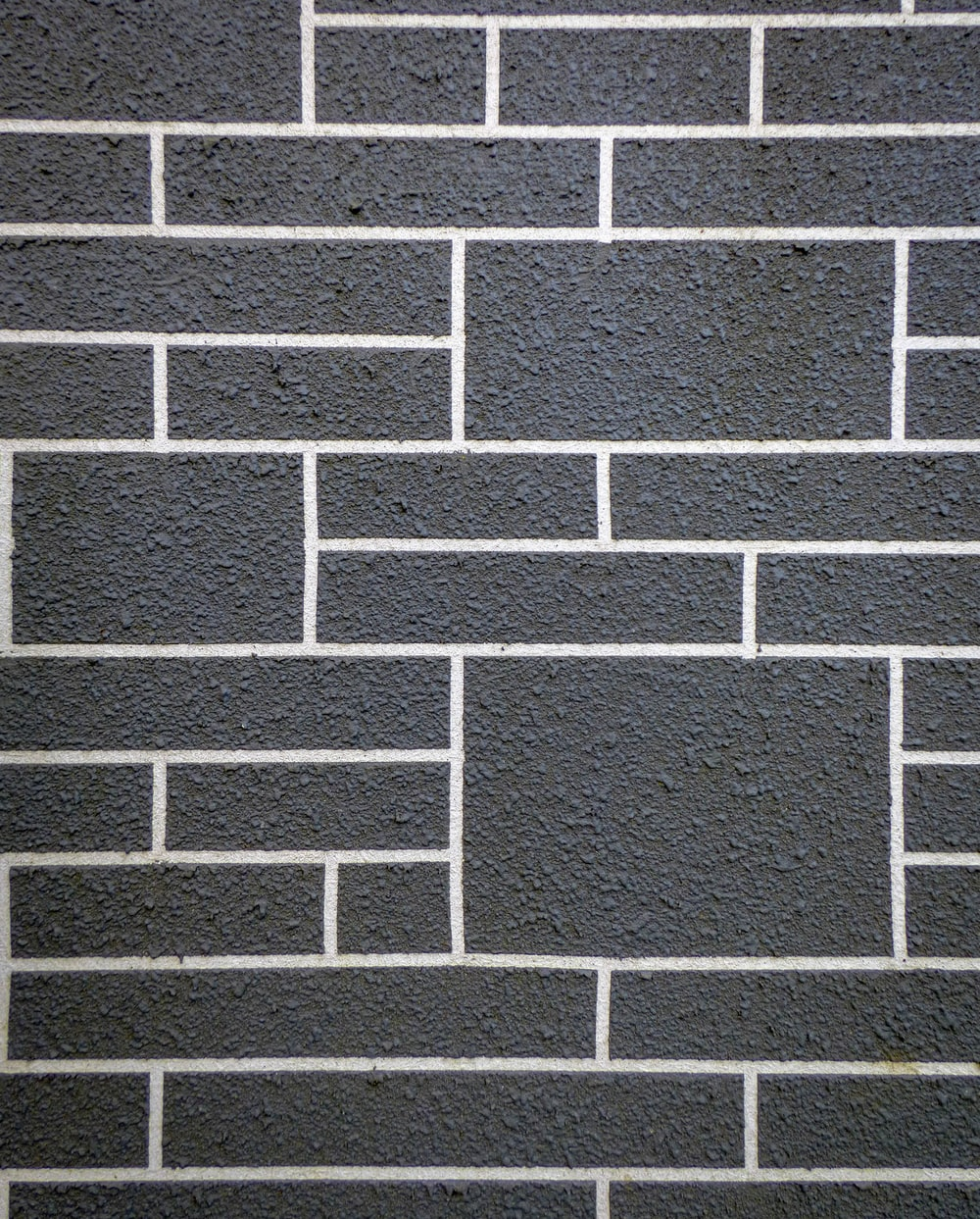 gray and white brick wall