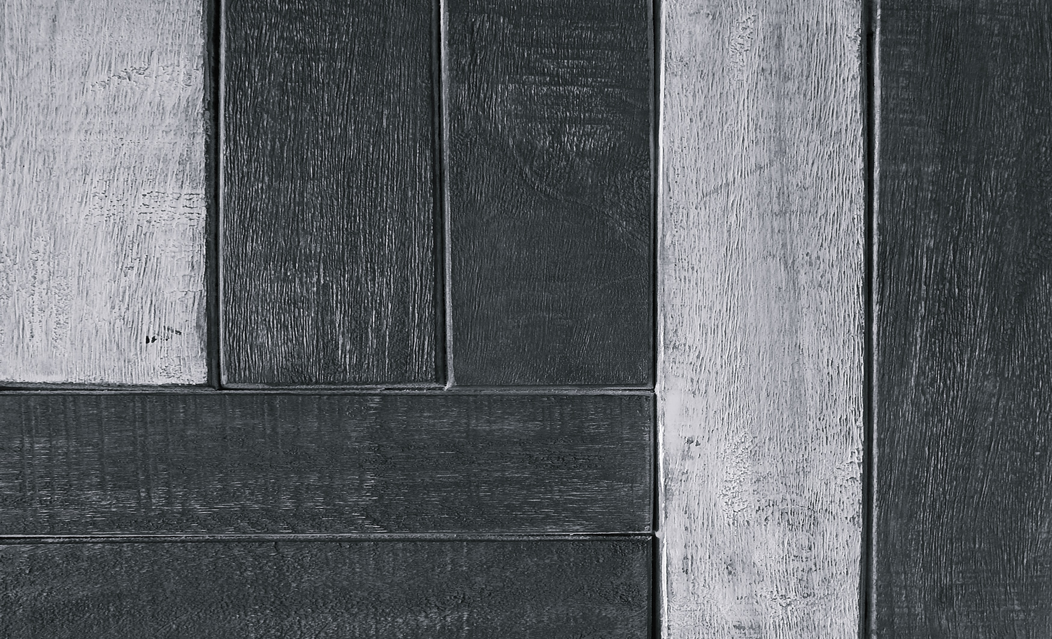 black and gray wood plank