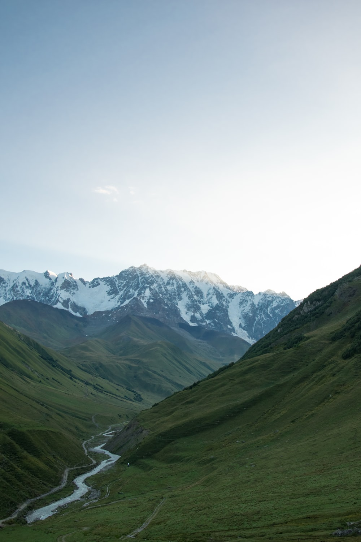 snow cape mountain