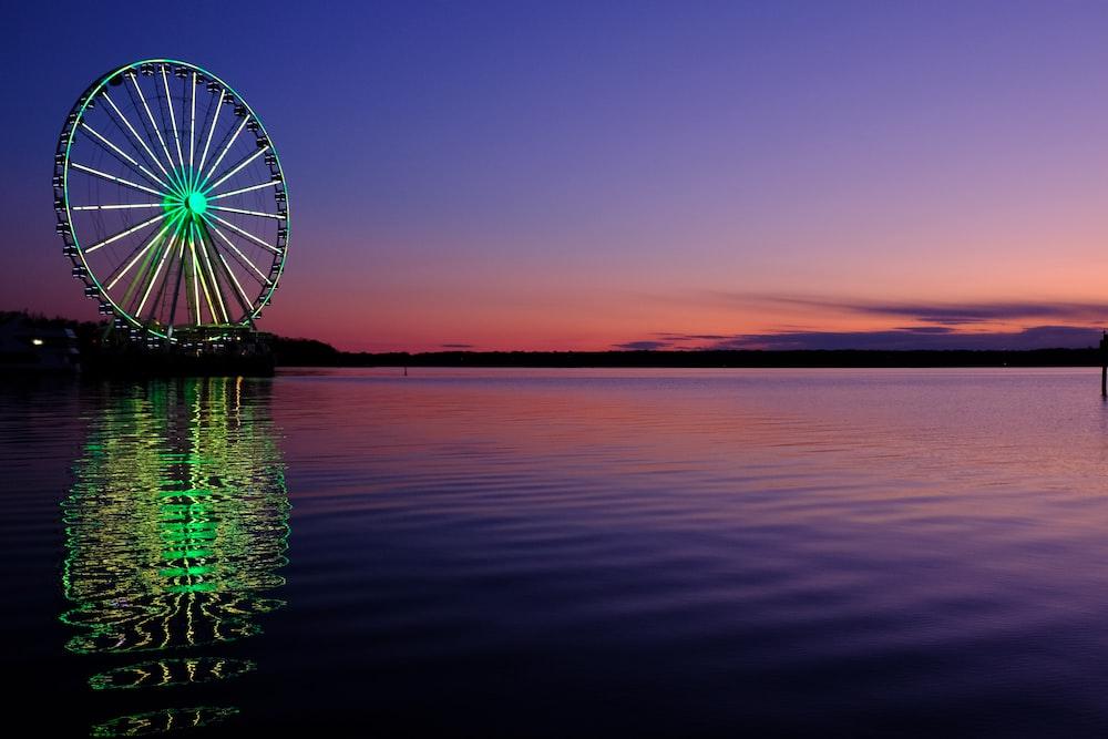 ferris wheel photograph