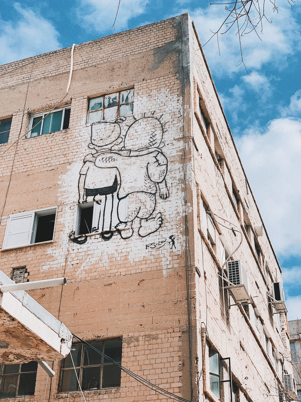 graffiti décor