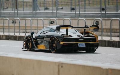 black luxury car vehicle zoom background