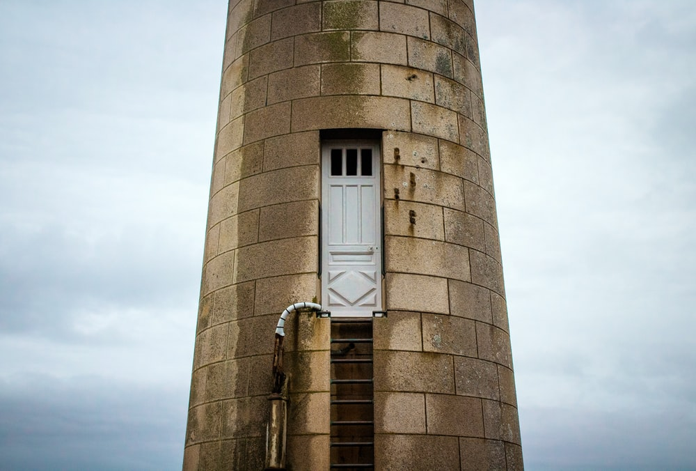 brown concrete tower