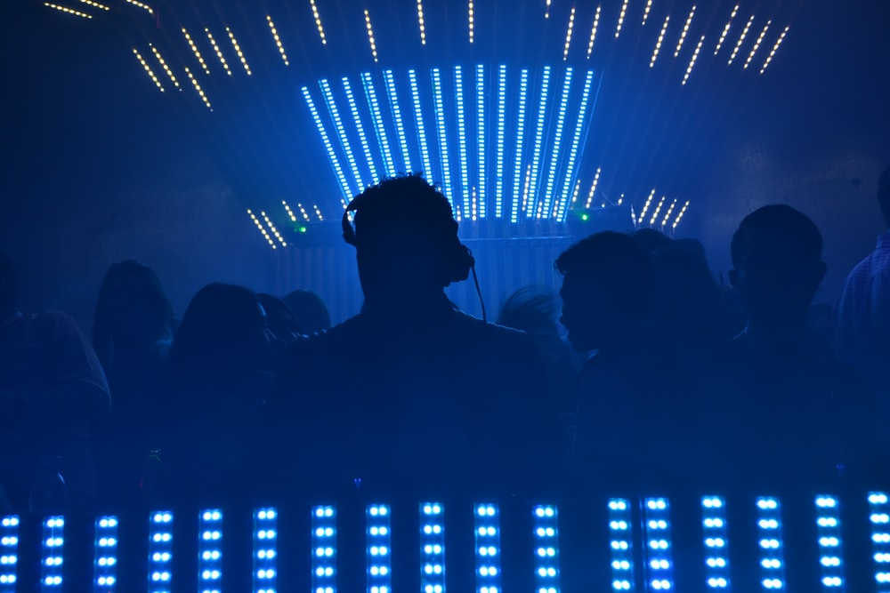 group of people on the disco photography
