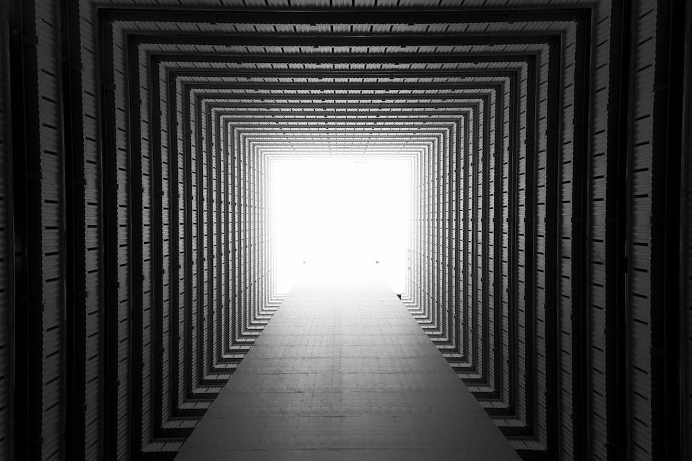 gray tunnel