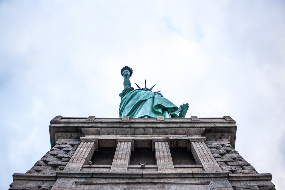 low-angle photography of Statue of Liberty, New York
