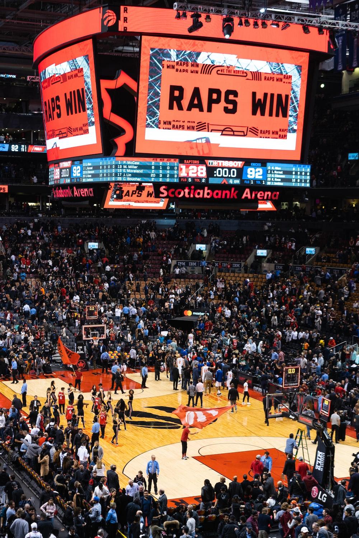 basketball court arena