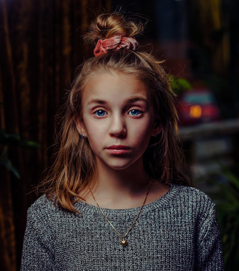 girl's portrait photography