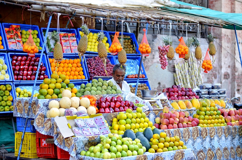 variety of fruits during daytime