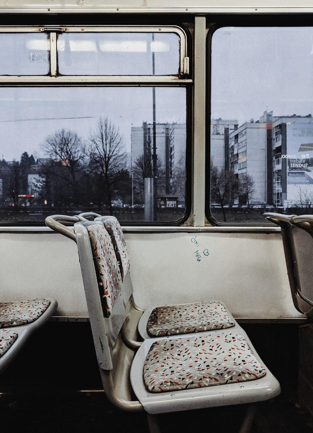empty bus seat