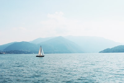 boat on ocean boat teams background