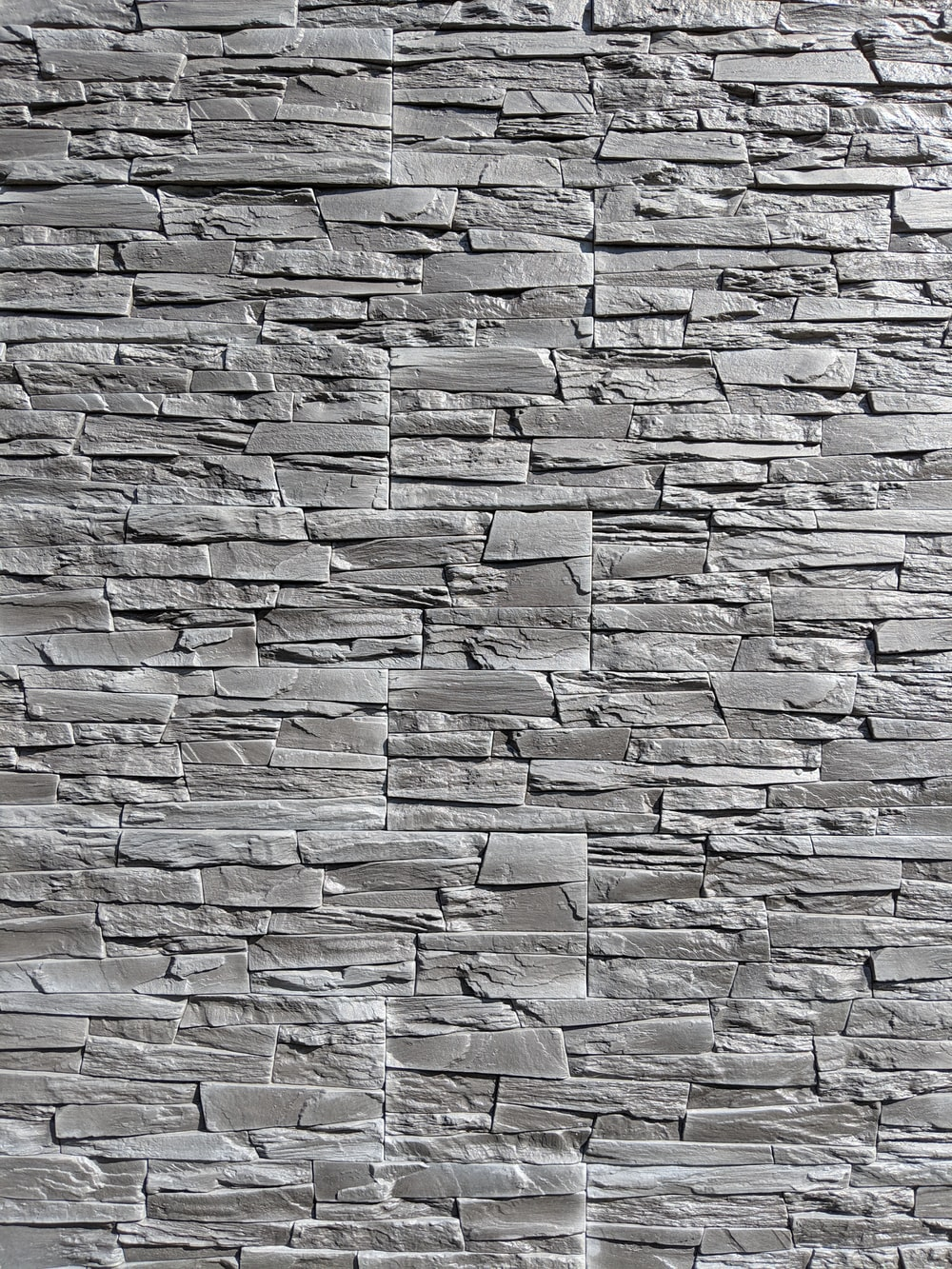gray stone wall cladding