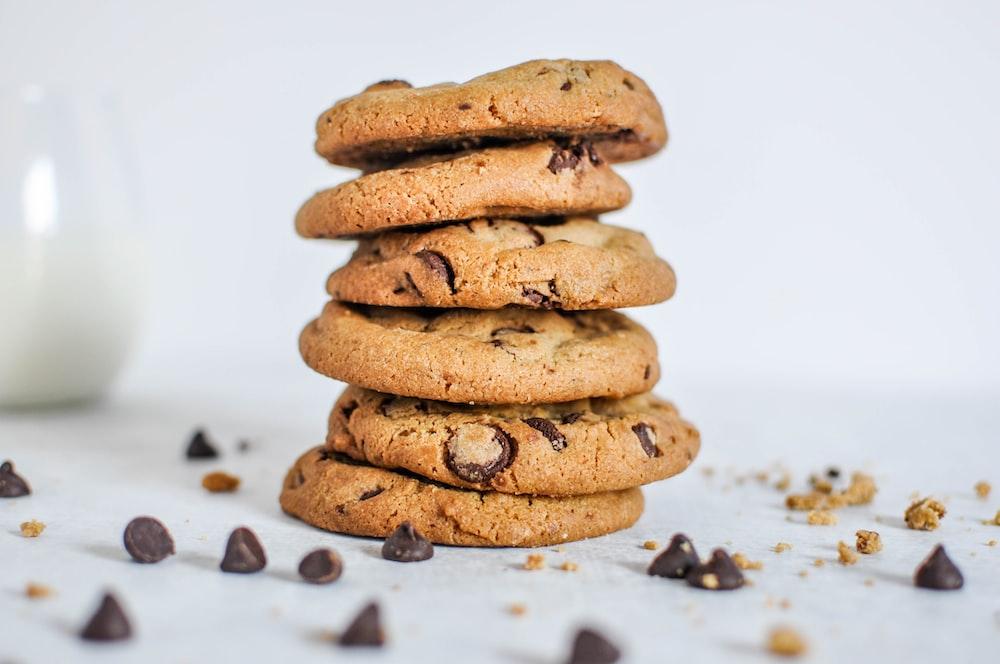 six cookies