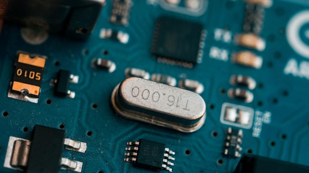 blue T16000 circuit board