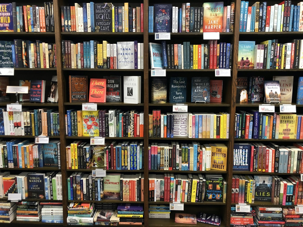 assorted-title books