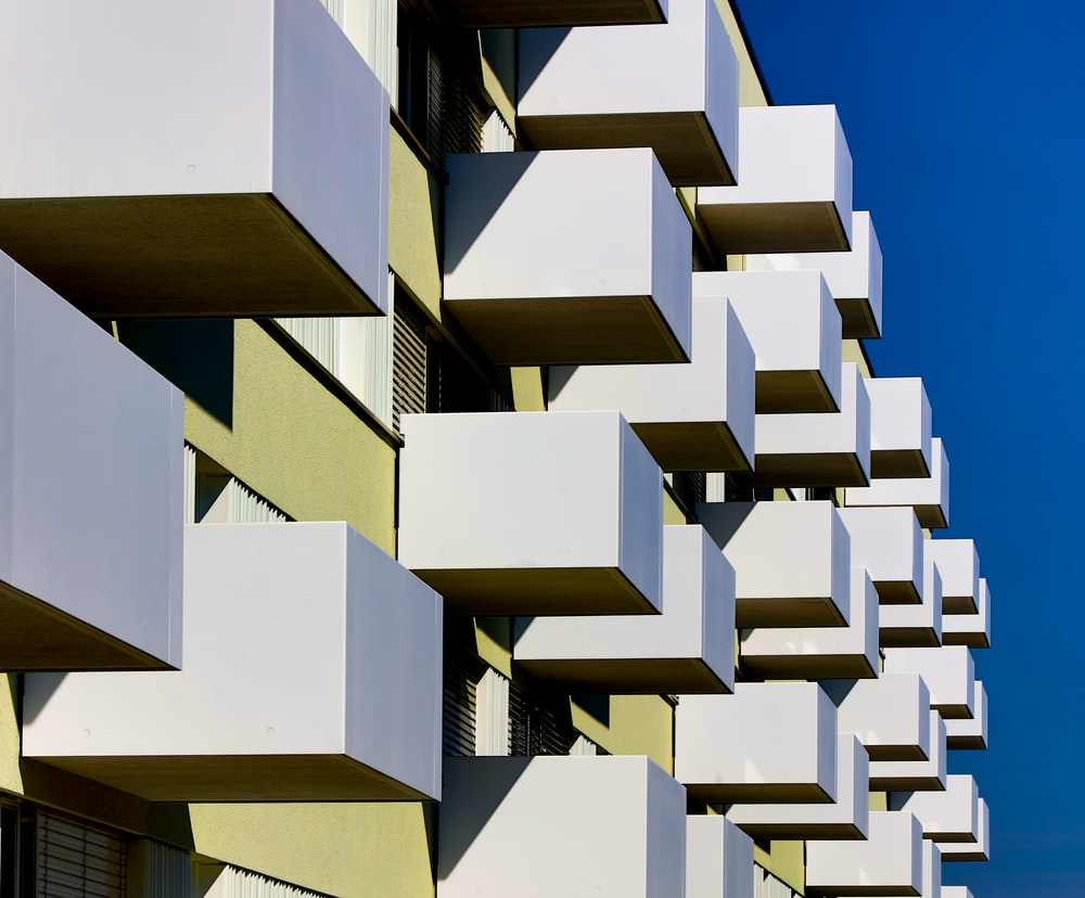 building blocks under clear blue sky at daytime