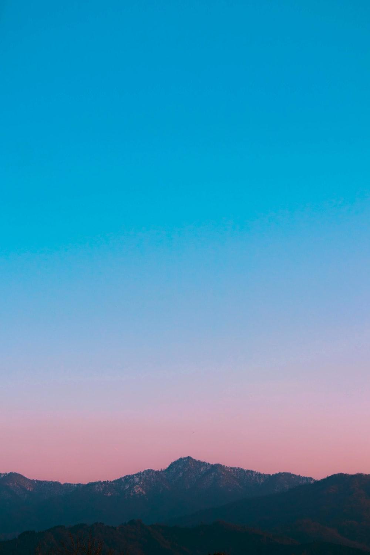 gray mountains