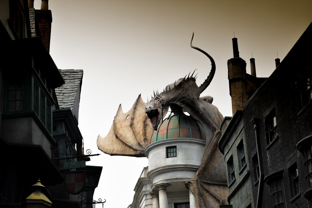 dragon on dome building