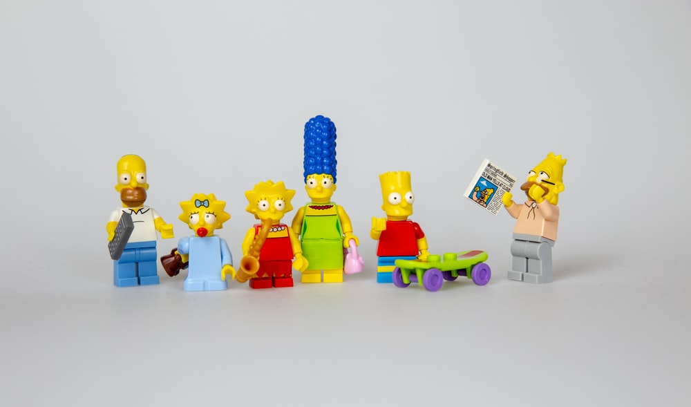 family Simpson figurines