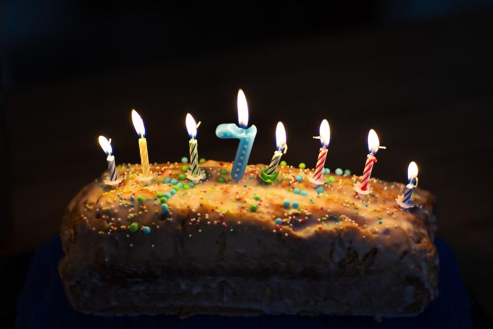 rectangular birthday cake