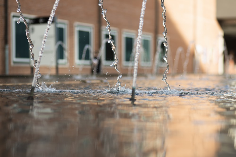 outdoor fountain during daytime