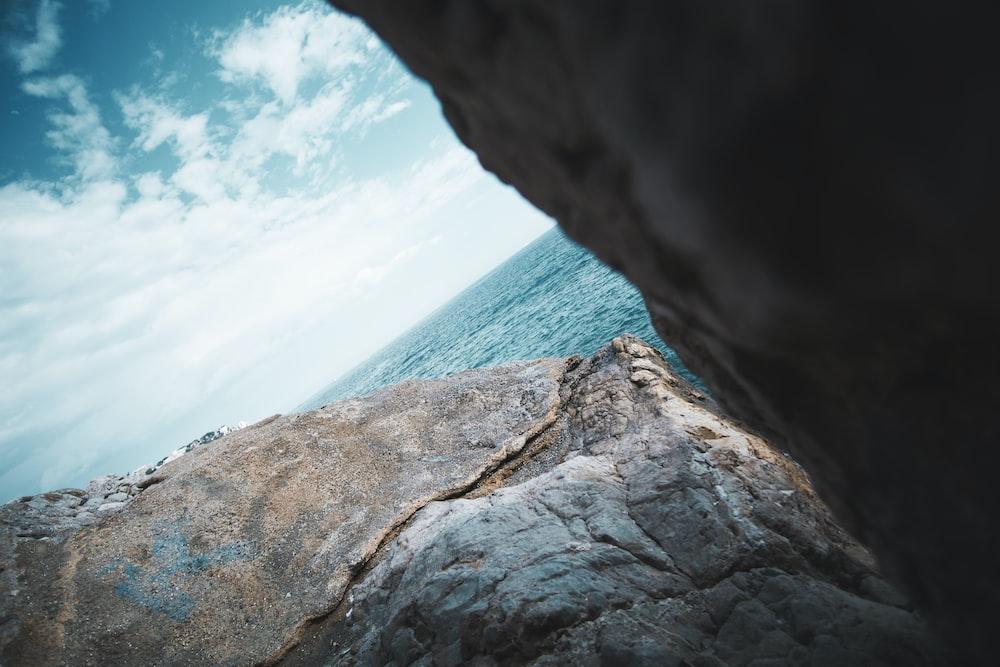 gray cliff
