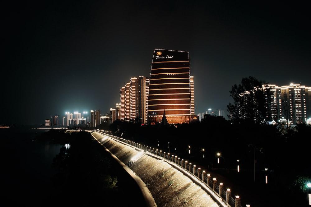 scenery of city building