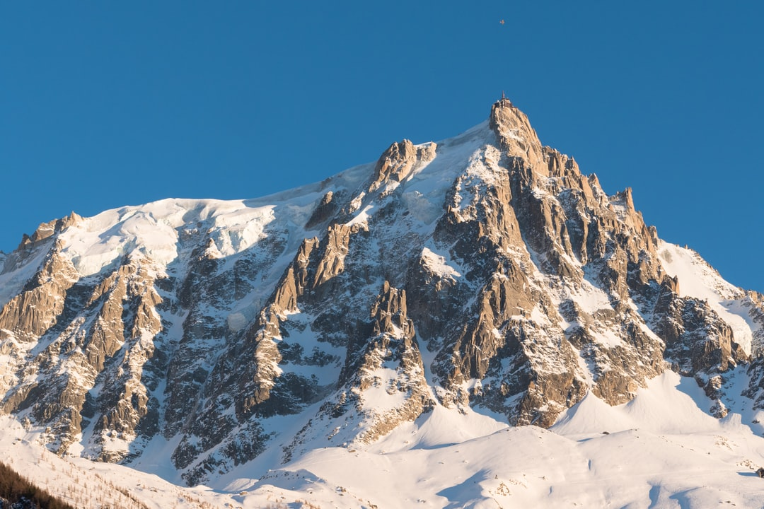 Aiguille du midi, Mont Blanc, France