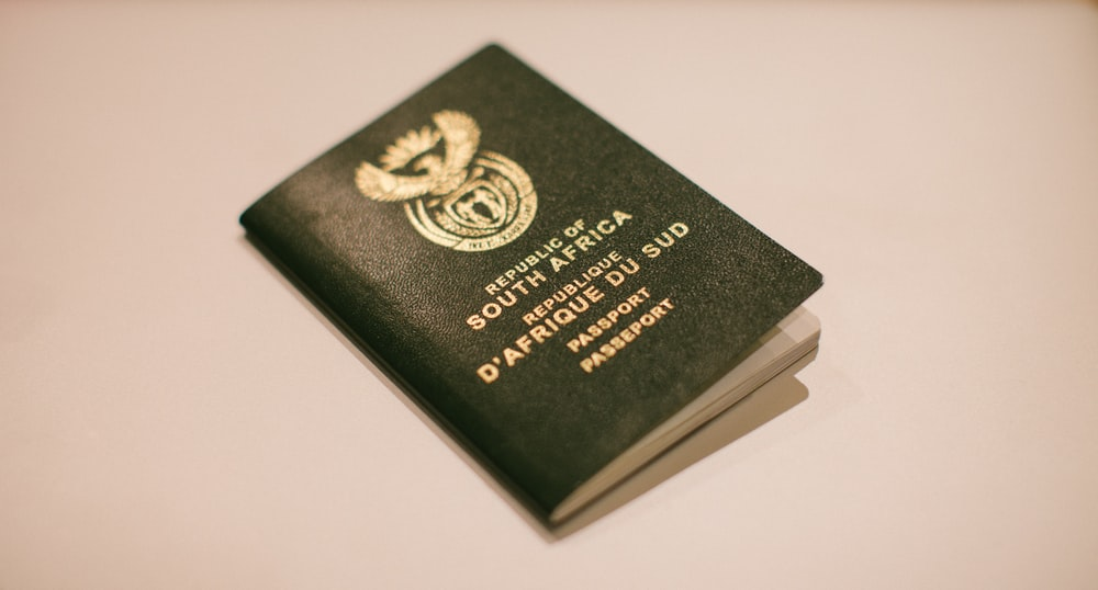 Republic of South Africa passport