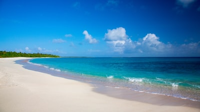 beach under white and blue cloudy sky during daytime marshall islands zoom background