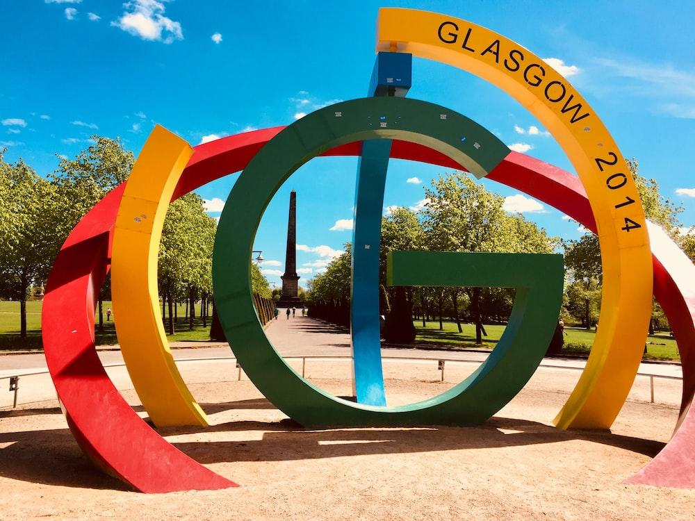 2014 Glasgow sign