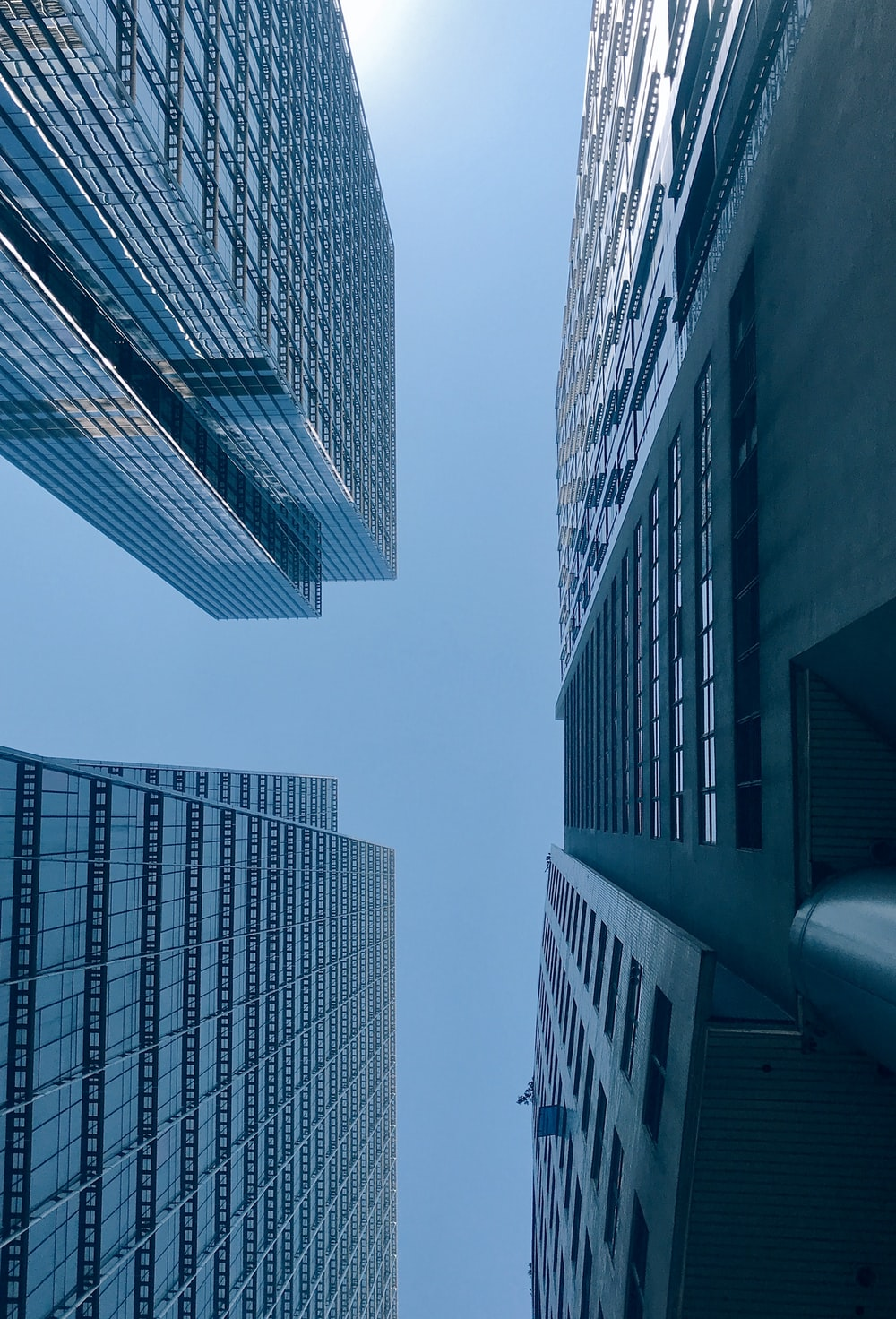 high-rise buildings during daytime