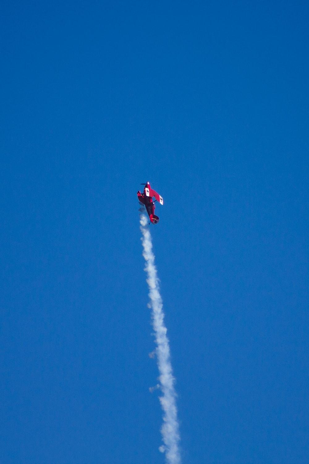 plane flying during daytime