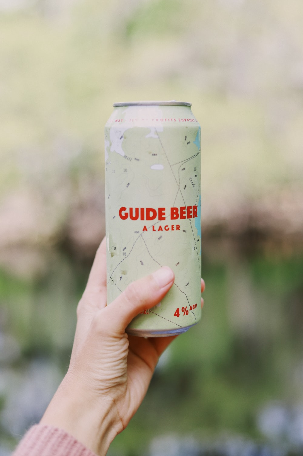 Guide Beer can