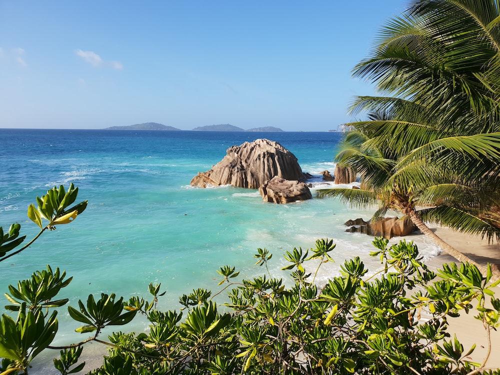 large rocks on the Island
