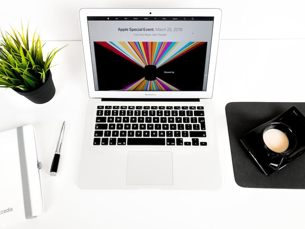 MacBook Air turned-on