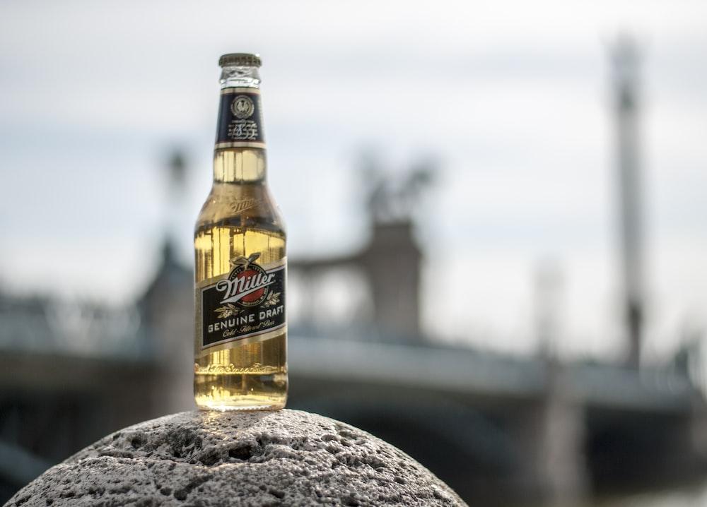 Miller beer bottle