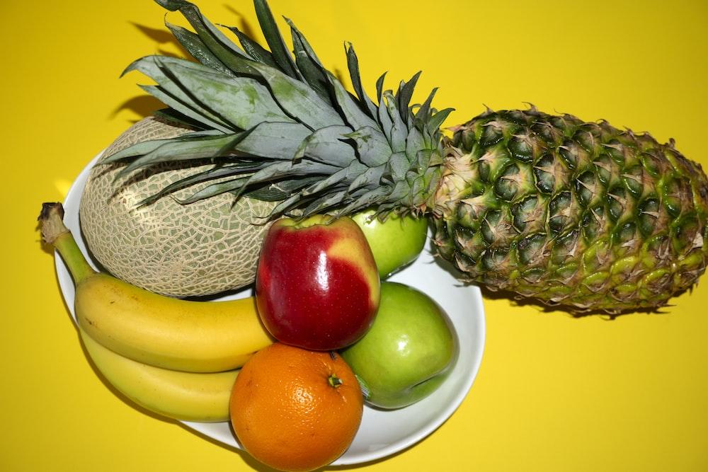 flat lay photography several fruits