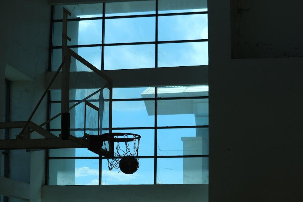 ball shots in basketball rim