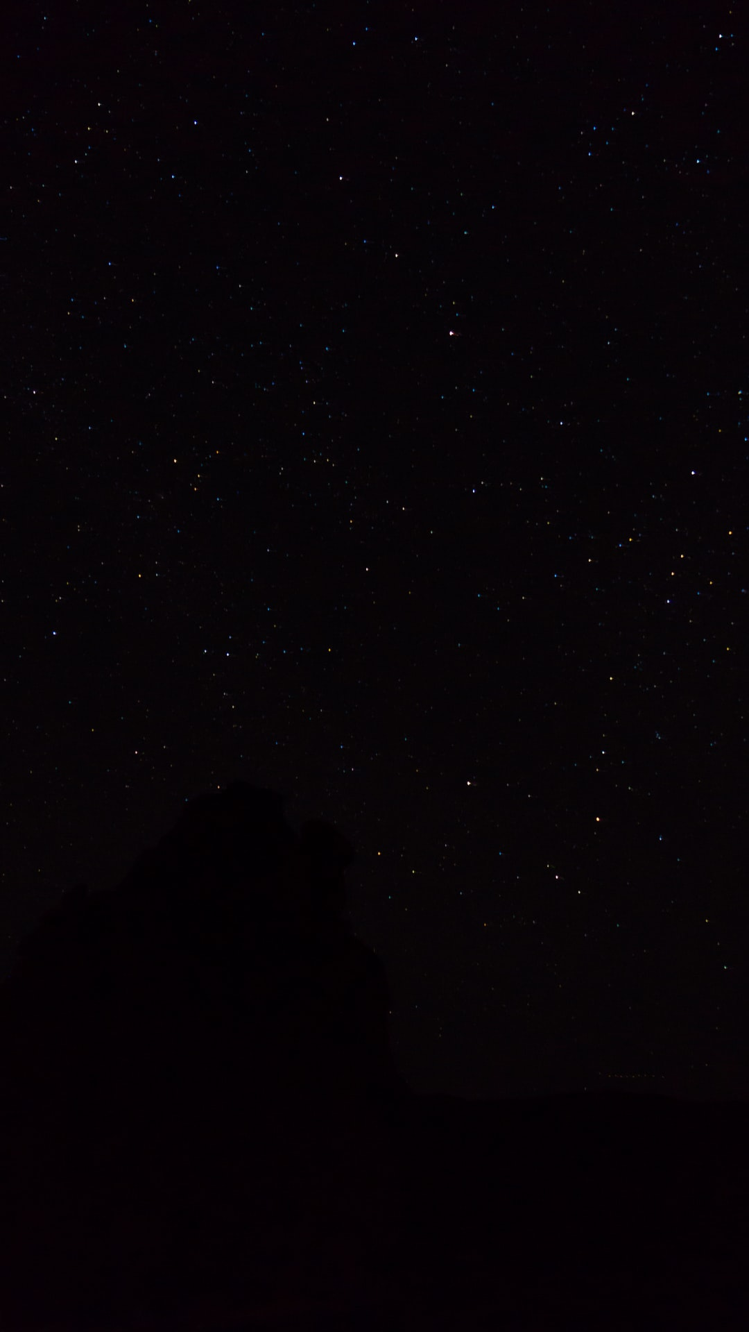 Moab Spring Night Sky