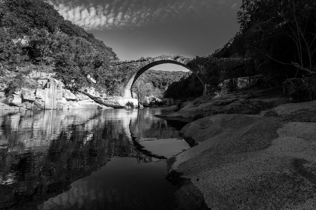 Genoa bridge with arch