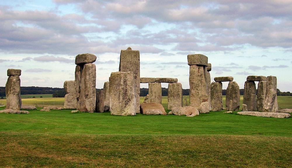landscape photography of stonehenges