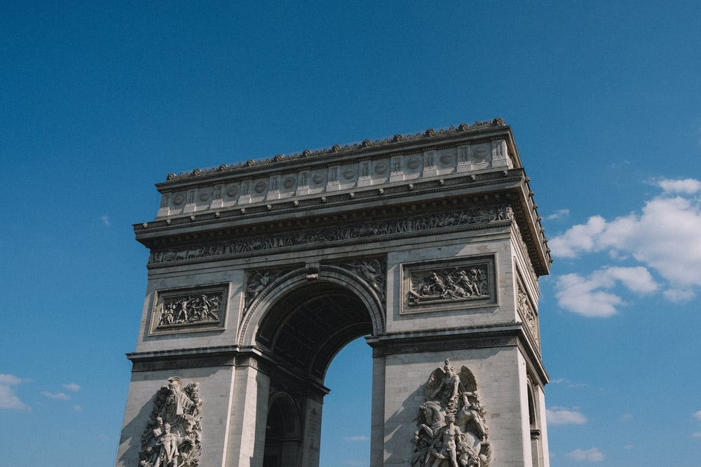 things to do in paris - arc de triomphe