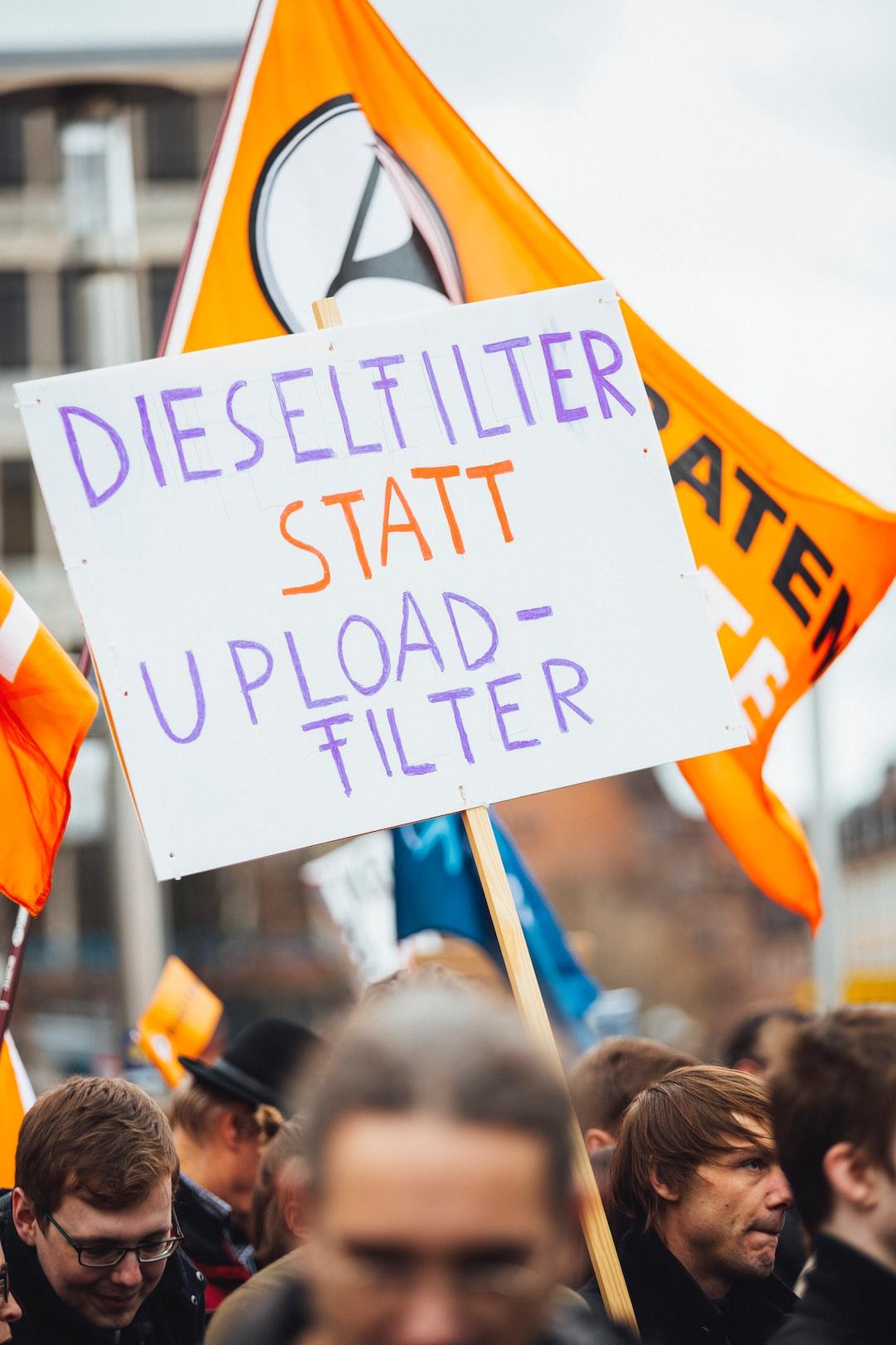 Save Your Internet – Demo against Uploadfilter – Article 13 #CensorshipMachine – March 16. 2019, Nürnberg, Germany