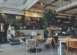 interior of a coffee shop