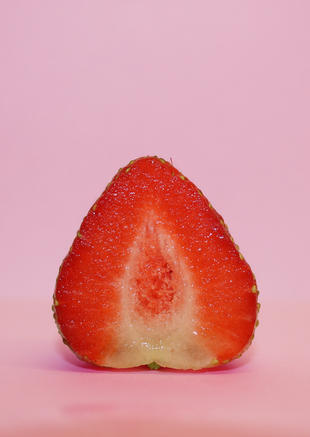 sliced strawberry